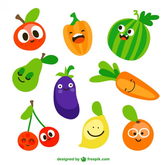 626x626 Fruits Amp Vegetables Clipart Animated