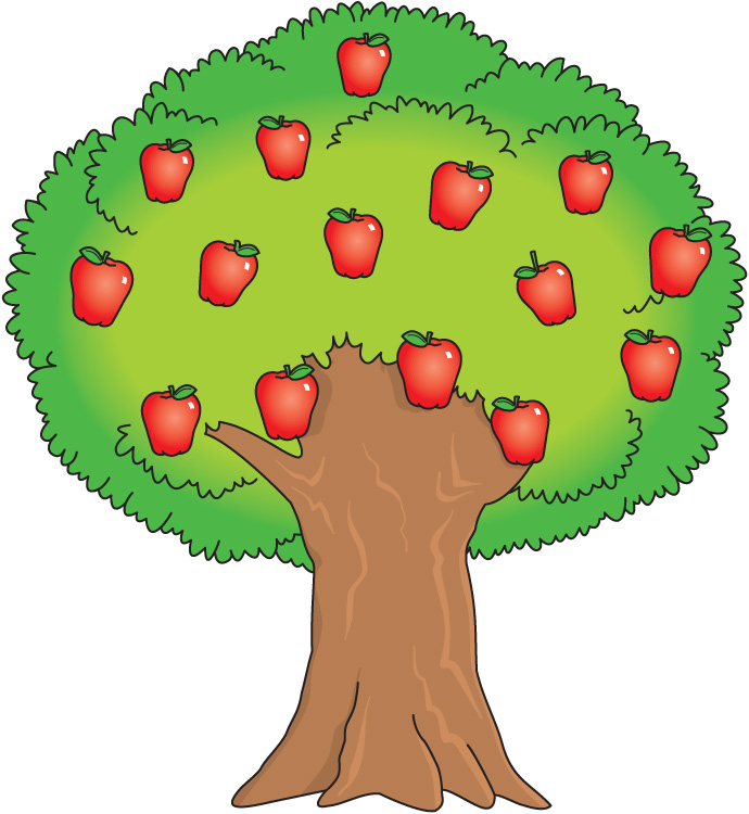 690x750 Tree With Fruits Clip Art 101 Clip Art