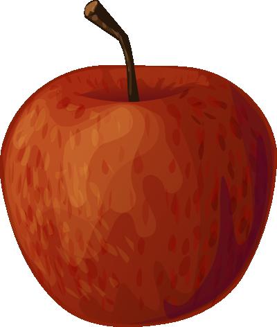 400x472 Fruit Basket Clipart