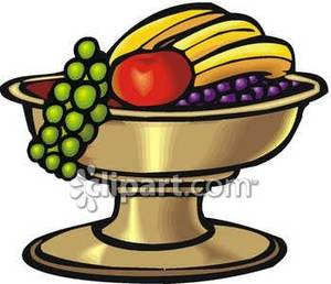 300x258 Fruit Bowl With Grapes