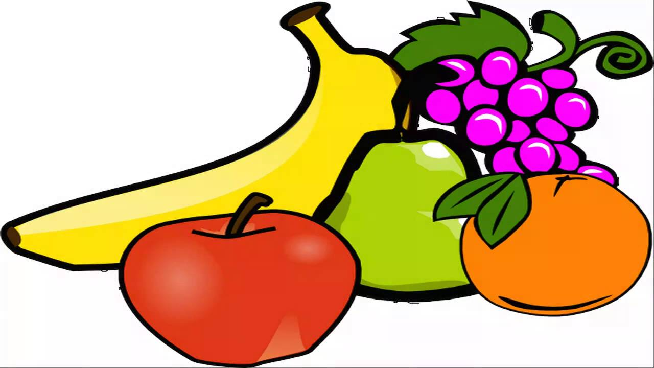 1280x720 Snack Clipart Fruit Plate
