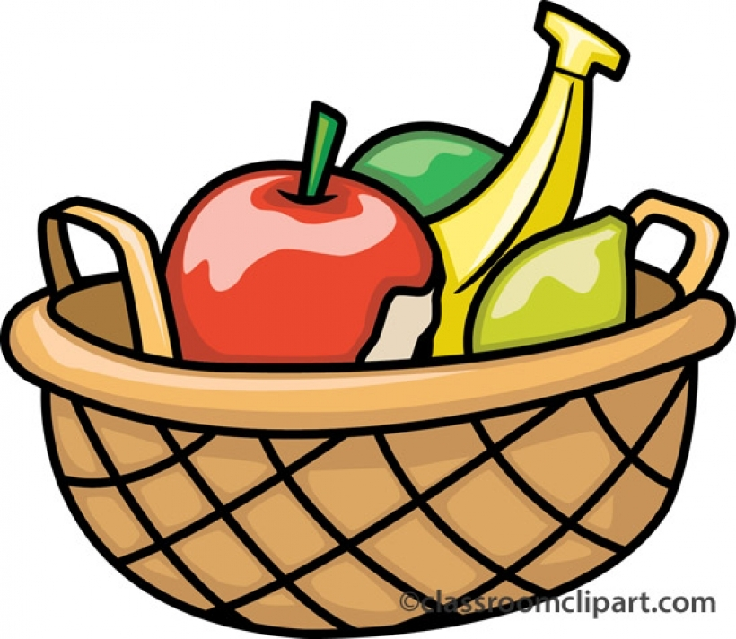 820x712 Fruit Bowl Clipart Clipart Panda Free Clipart Images Within Fruit