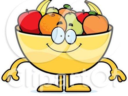 440x330 50 Cartoon Bowl Of Fruit, Cartoon Bowl Of Fruit Sign Stock Vector