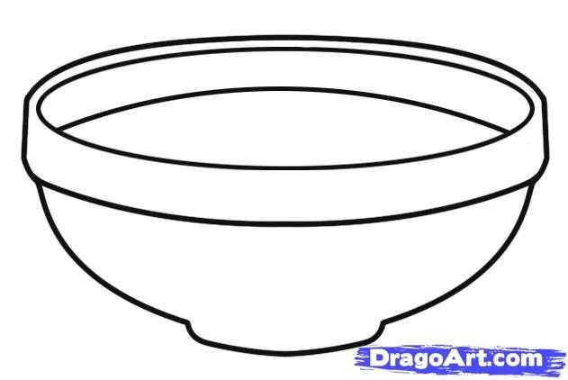 631x422 Fruit Bowl Drawing With Shading Clipart Panda
