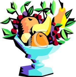 297x300 Art Image A Bowl Of Fresh Fruit
