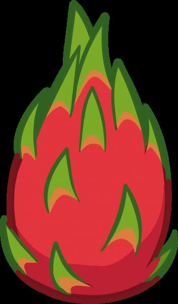 352x600 Dragon Fruit Clipart 2 Nice Clip Art