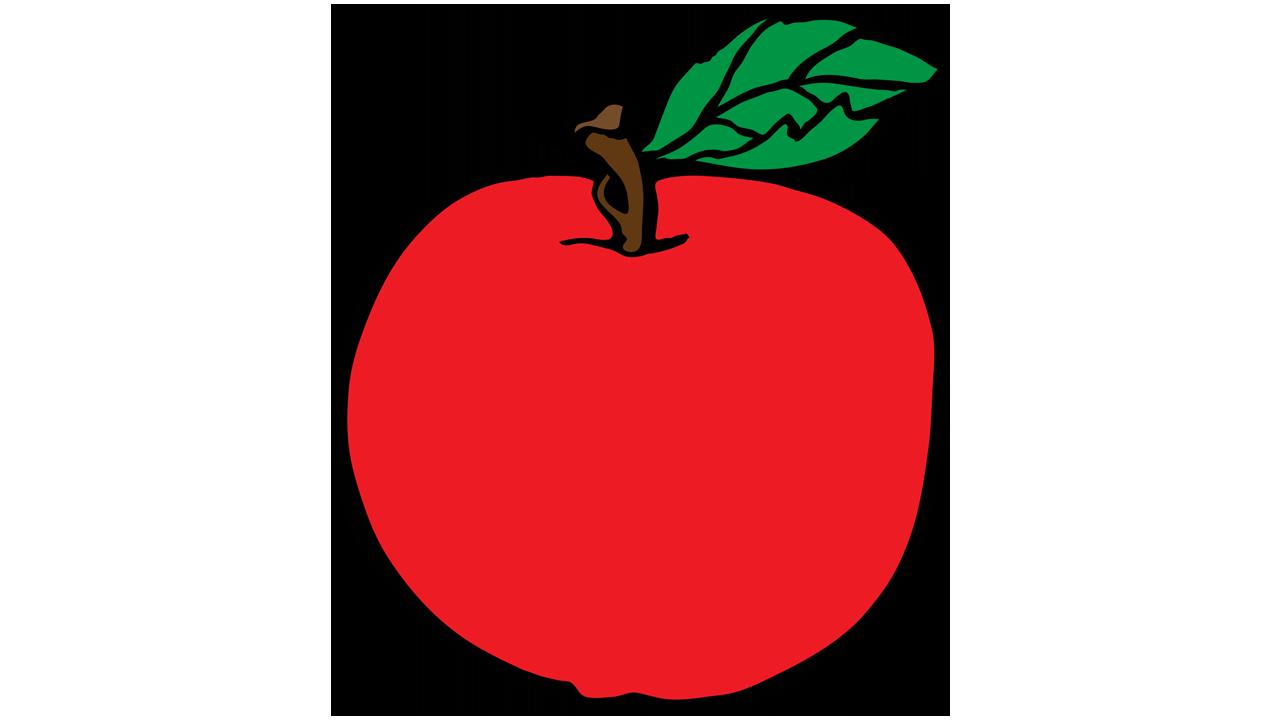 1280x720 Apple Clipart Fruit
