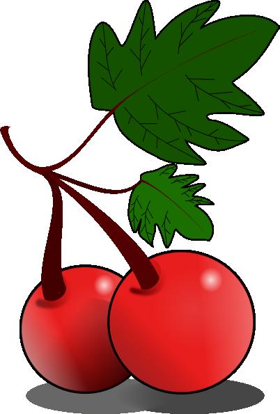 402x595 Cherries Fruit Clip Art Free Vector 4vector