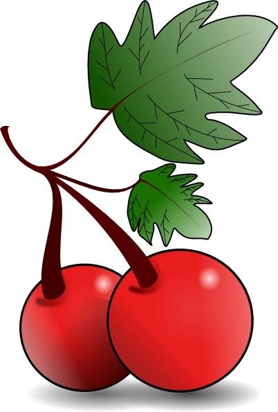 402x595 Cherries Fruit Clip Art Free Vector In Open Office Drawing Svg