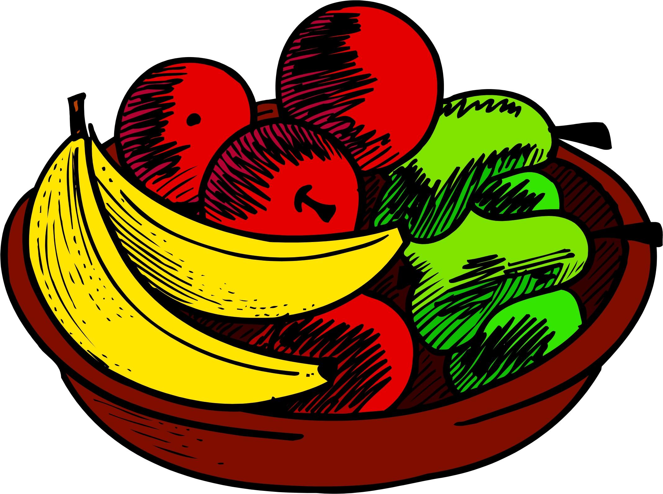 2137x1592 Fruit Basket Clipart 101 Clip Art