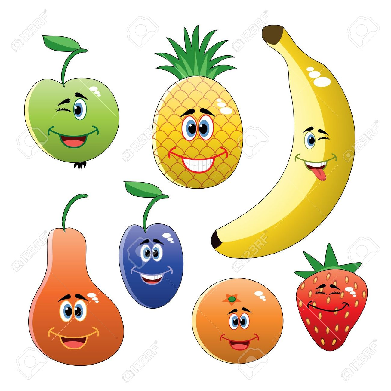 1300x1300 Fruit Clipart