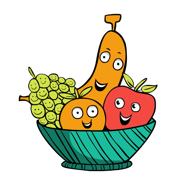 600x630 Thanksgiving Clipart Fruit Basket