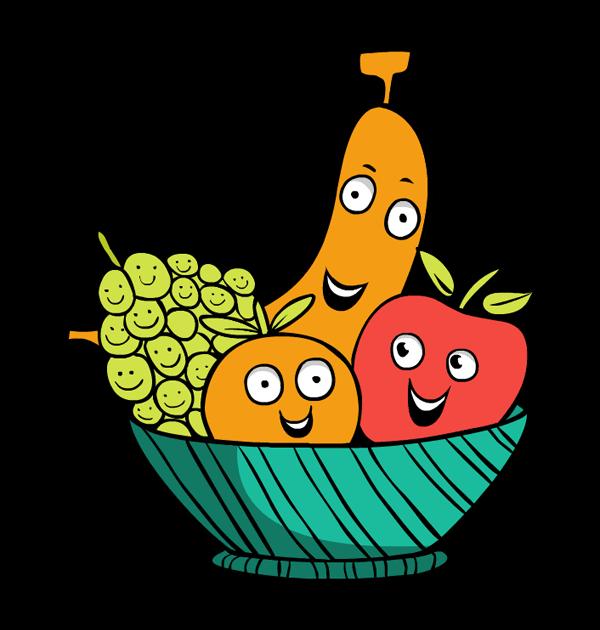 600x630 Thanksgiving Clipart Fruit Basket