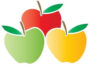 300x217 Top 70 Apples Clip Art