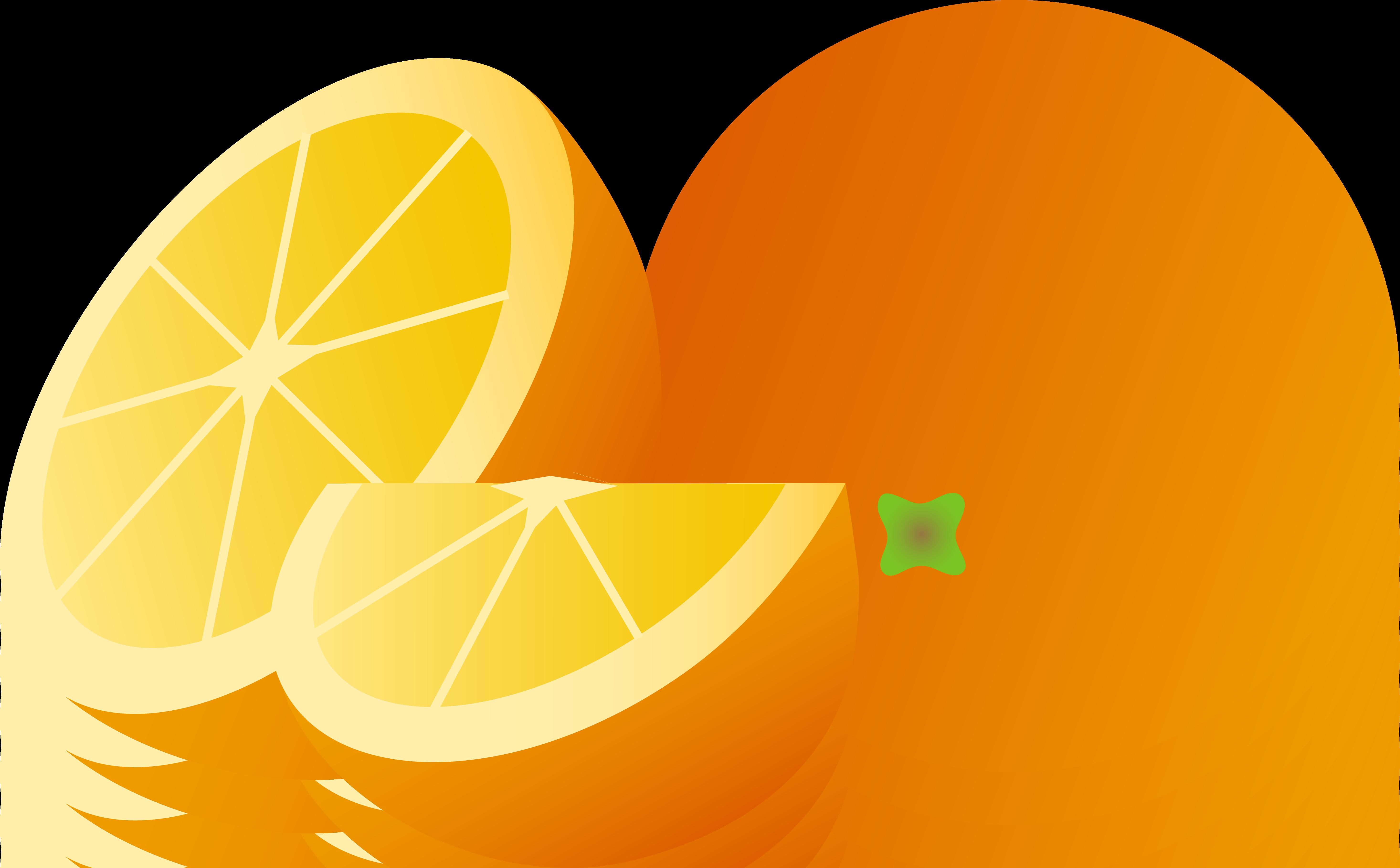 5865x3635 Best Orange Clip Art