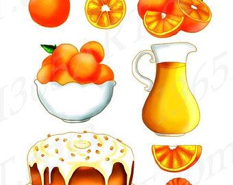 Fruit Orange Clipart