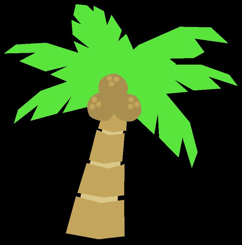 791x800 Cartoon Coconut Tree Clipart