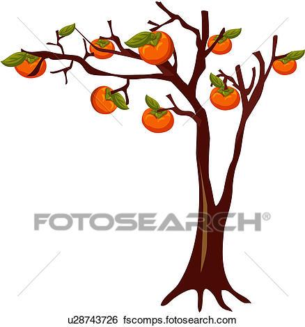 438x470 Clip Art Of Tree, Fruit, Plants, Plant, Plant Life U28743726