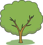 183x195 Free Trees Clipart
