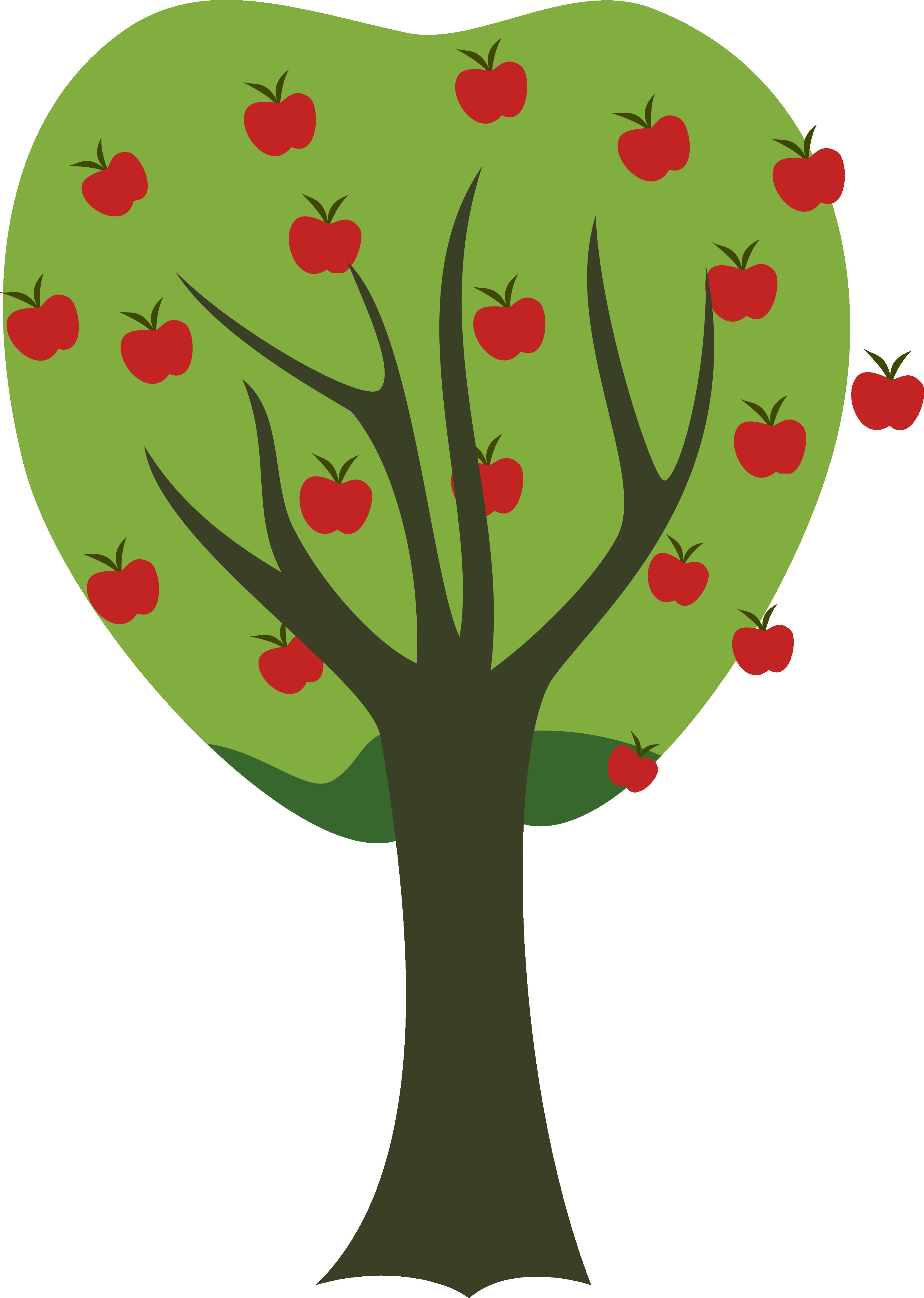 3249x4561 Fruit Tree Cliparts