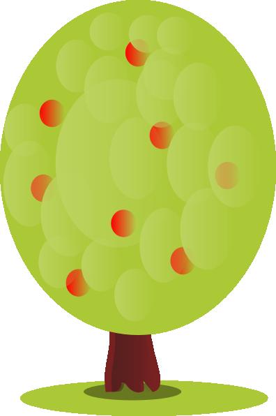 396x596 Peileppe Red Fruit Tree Clip Art
