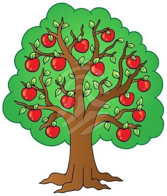 342x400 Apple Tree Clipart