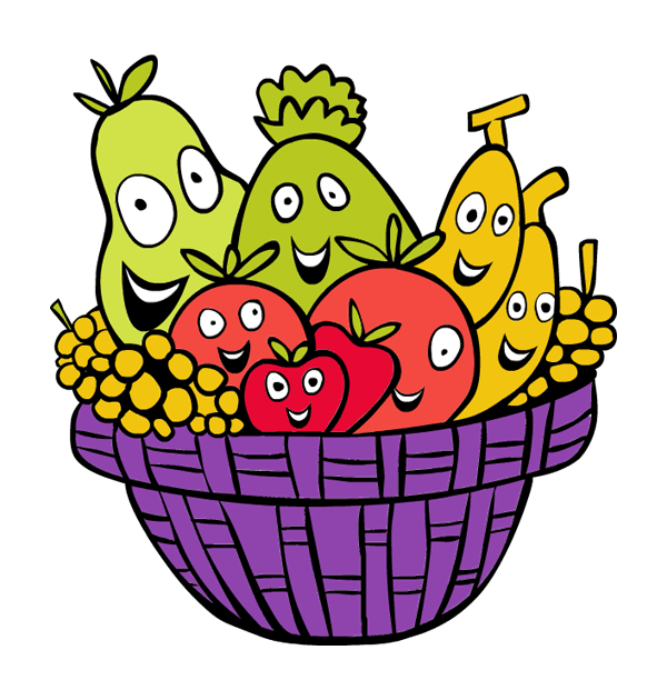 Fruitbasket Clipart | Free download on ClipArtMag