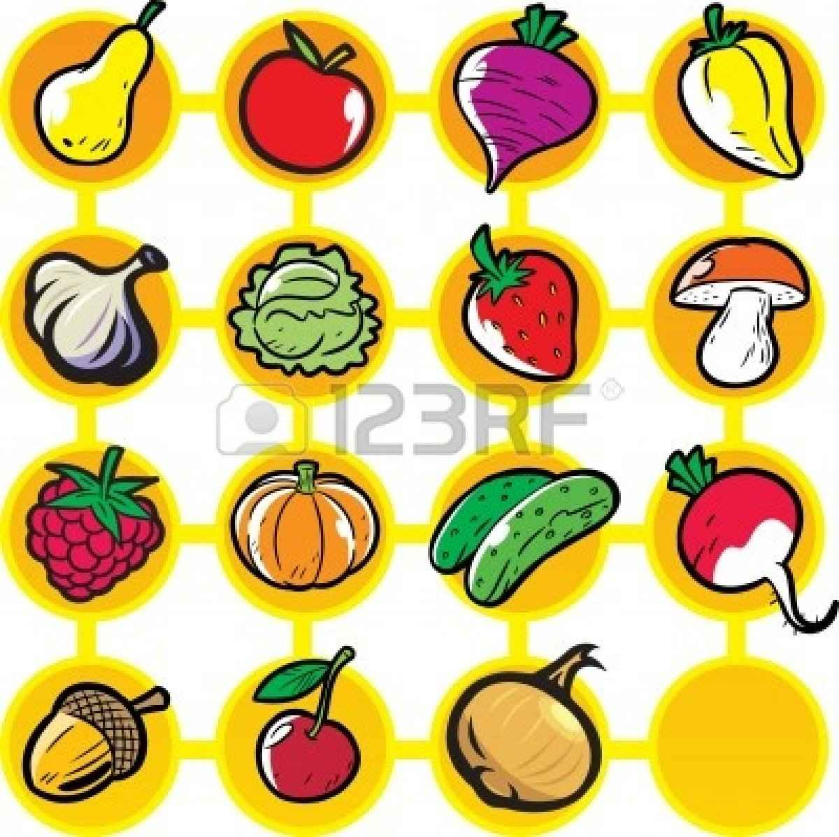1200x1197 Fruit And Vegetable Border