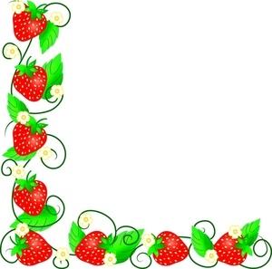 300x297 Fruit Clip Art Border