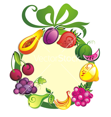 380x400 Fruits And Vegetables Pictures Clipart Panda