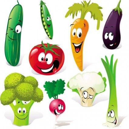 425x425 Fruits Amp Vegetables Clipart Fruta
