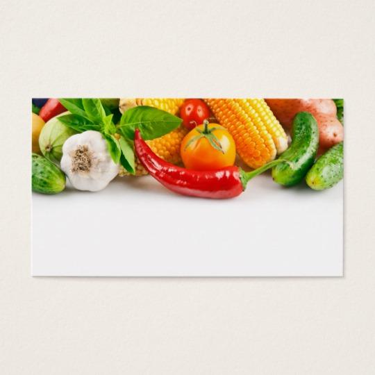 540x540 Vegetable Business Cards Amp Templates Zazzle