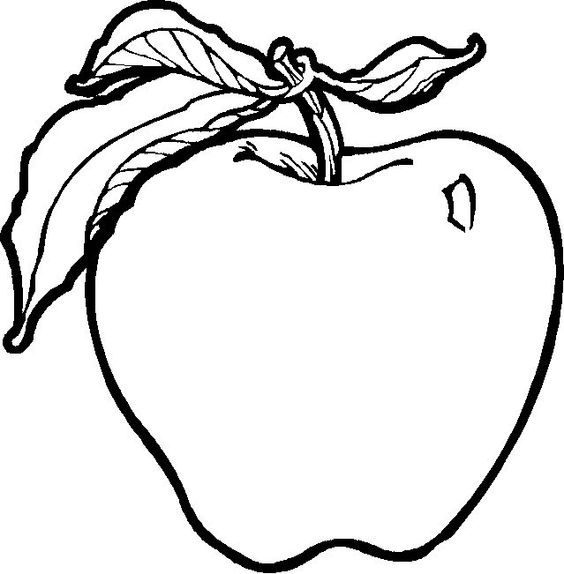 Fruits And Vegetables Clipart Black And White | Free ...