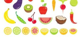 272x125 23 Fruits And Vegetables Clip Art Healthy Food Clipart On Healthy