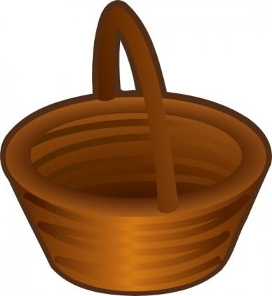 390x425 Fruit Basket Clipart
