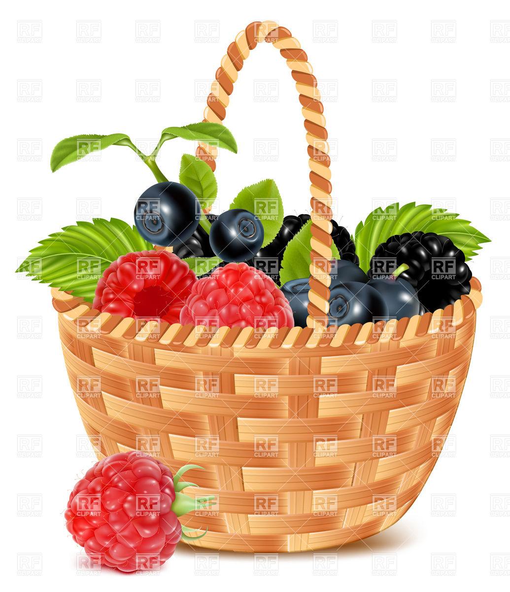 1035x1200 Harvest Basket Clipart