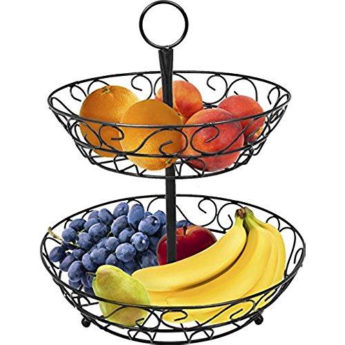 500x500 Tiered Kitchen Fruit Basket