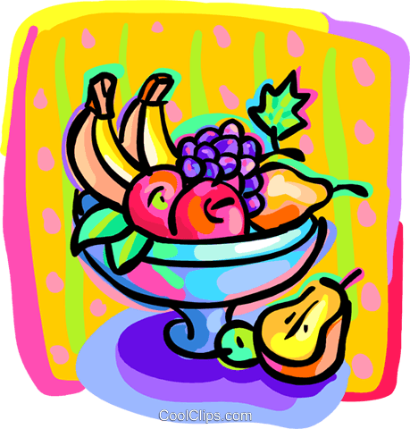 459x480 Bowl Of Fruit Royalty Free Vector Clip Art Illustration Food1187
