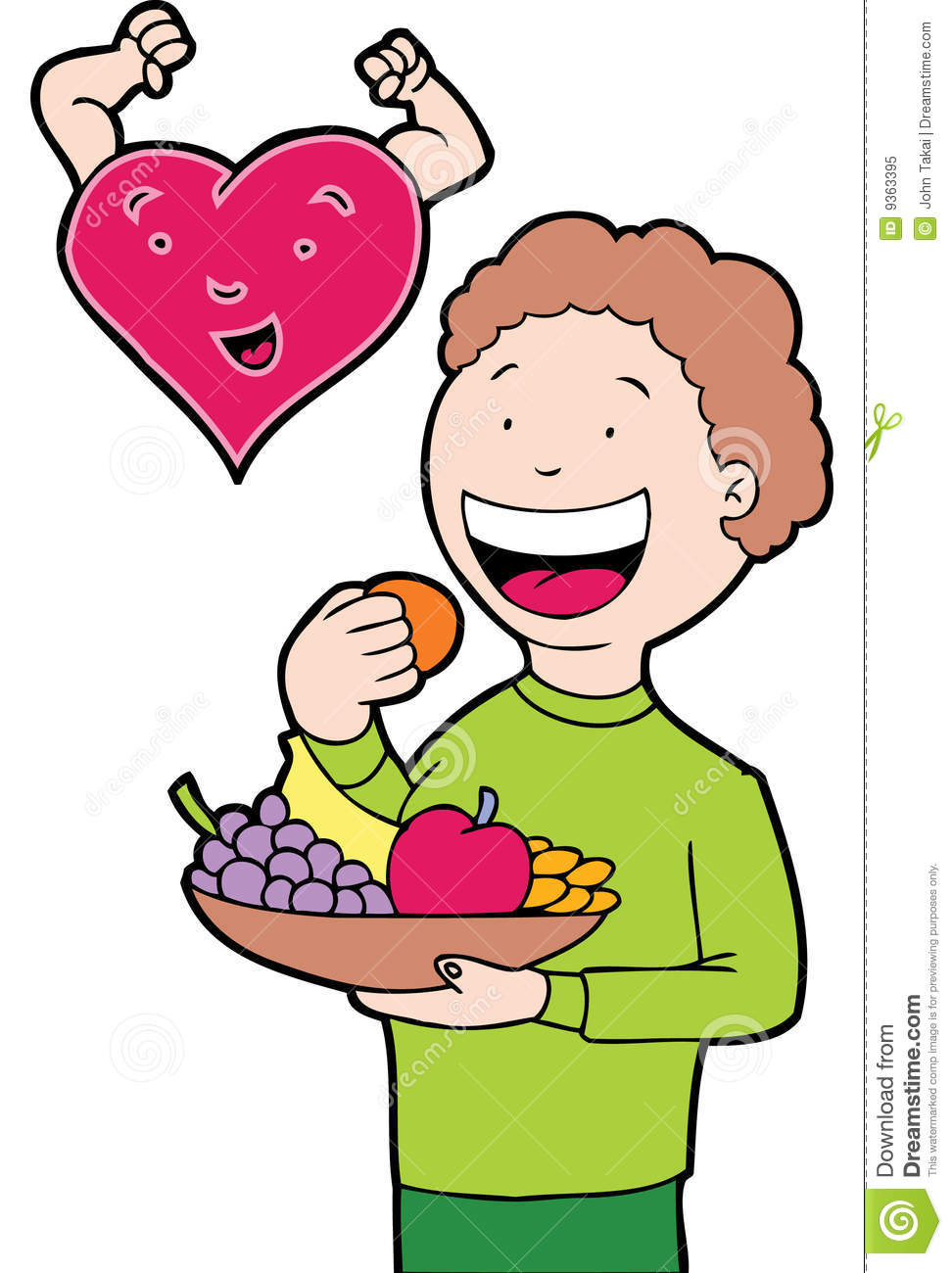 972x1300 Eating Fruits And Vegetables Clipart
