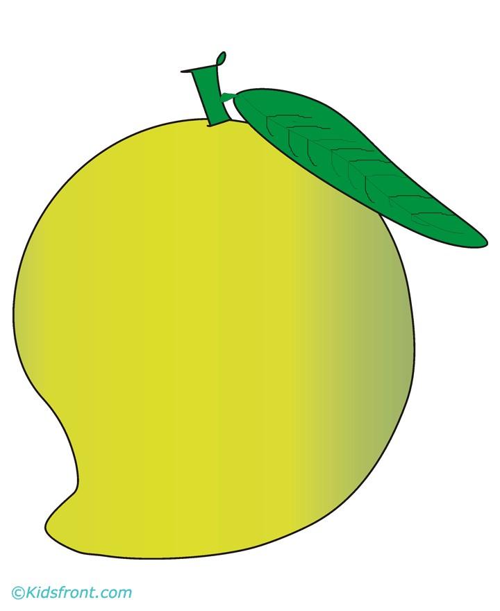 720x880 Mango Clip Art