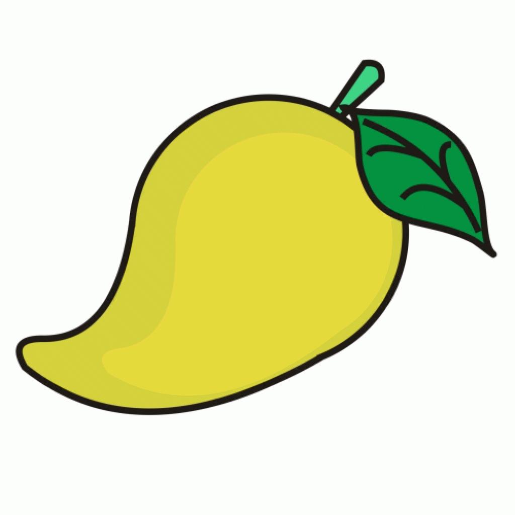 1024x1024 Mango Clipart Mango Fruit