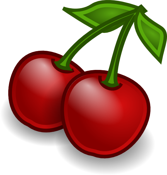 570x596 Rocket Fruit Cherries Clip Art