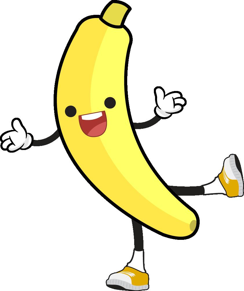 842x1001 Banana Png Banana Clipart