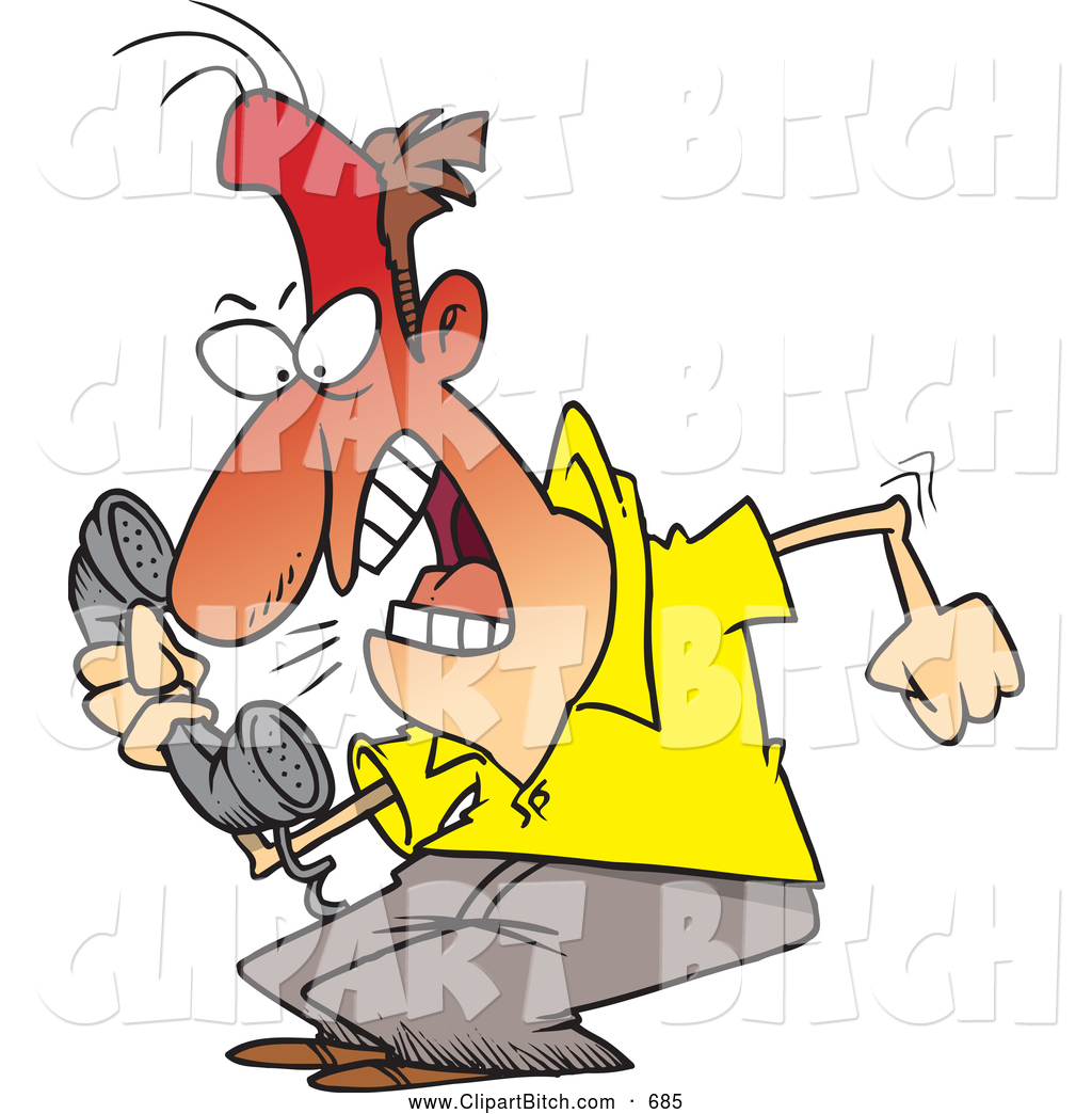 1024x1044 Clip Vector Cartoon Art Of A Frustrated Cartoon Irate Man