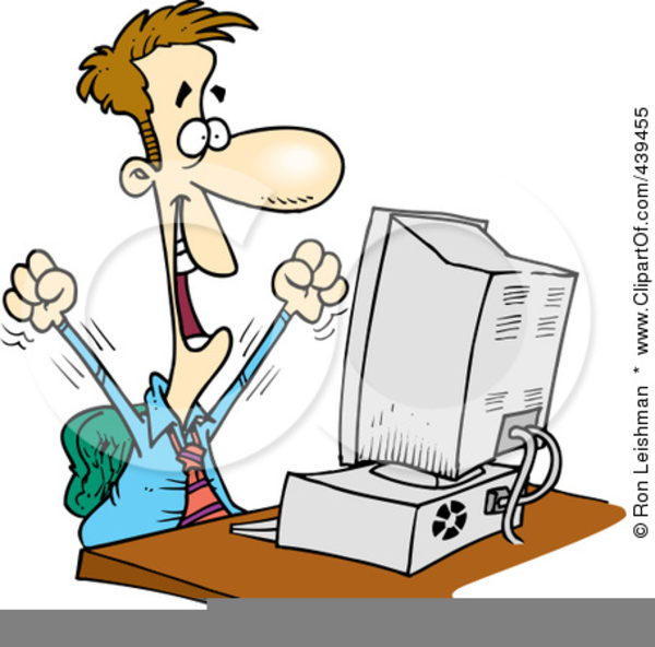 600x592 Free Frustrated Computer User Clipart Free Images