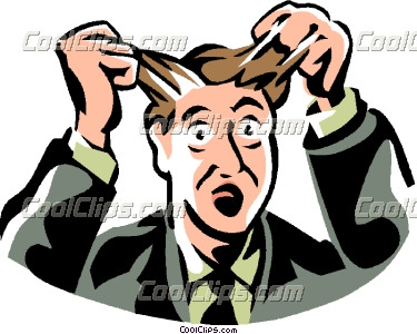 375x300 Receiver Clipart Frustrated Man