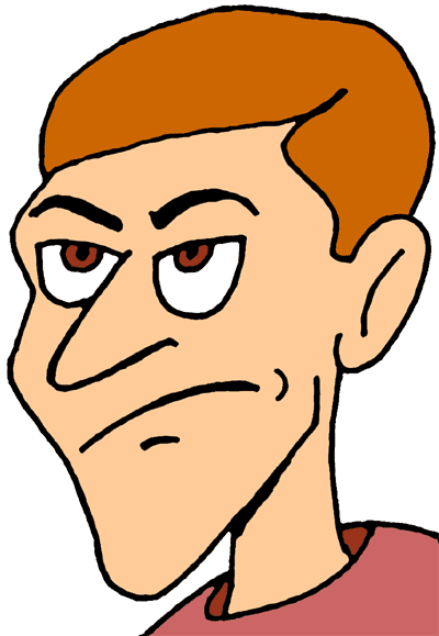 400x579 Annoyed Clipart