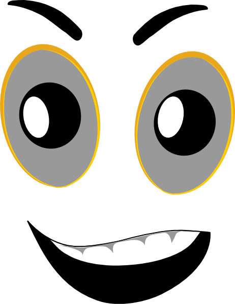 462x596 Cliparts Mean Face 193557