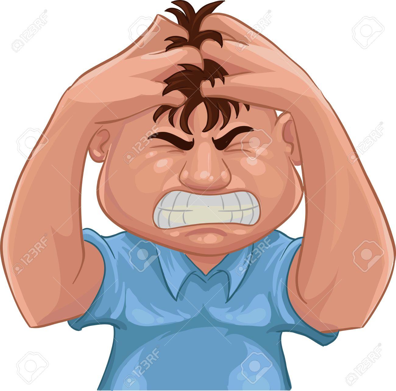 1300x1284 Despair Clipart Annoyed Person