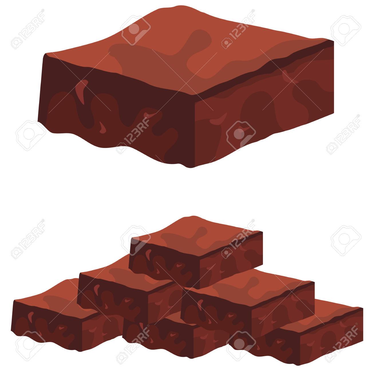 1300x1300 Brownie Clipart Chocolate Brownie